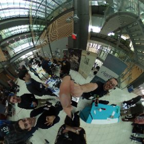 #EnvisionTheFuture @Epson #Moverio the smarglasses of the future @PtonEnvision #VR #AR @TeslaSF #theta360