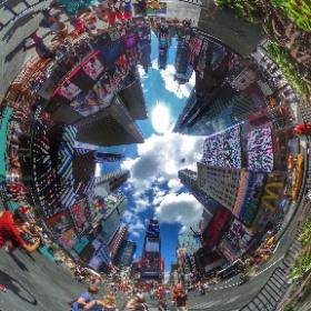 Times Square, New York  #theta360