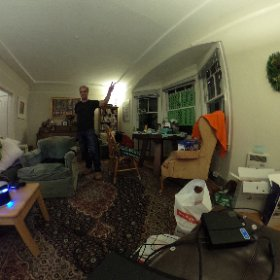 With PSVR, baby! #theta360