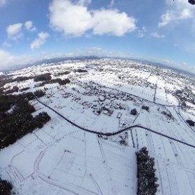 IKEDA Gifu snow3d #theta360