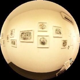 遅ればせながら、先週末にデザインフェスタギャラリーWESTで開かれていた大橋忍さん @ubonihs の個展会場の360度写真です。素敵な作品盛りだくさんでした!