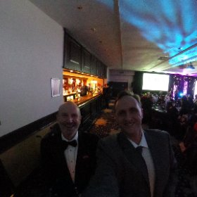 360 with a great #Scottish comedian @fredmacaulay who did a fantastic hosting job at the #2016Rocco awards @WestCollScot #theta360
