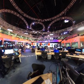 Putting you in the heart of the newsroom on election night #theta360