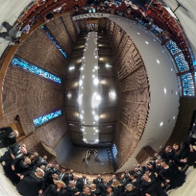 BSU Alumni Choir performs in birthday concert for Dr. Paul Brandvik. #theta360