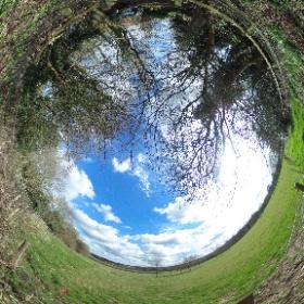#Ightham Quarry rear garden