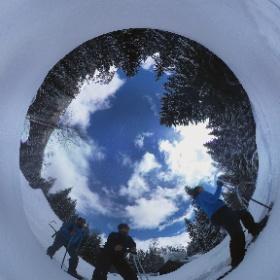 Schneeschuhwandern in Vallorcine