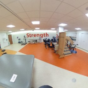 3rd floor inpatient #rehabilitation gym. #theta360
