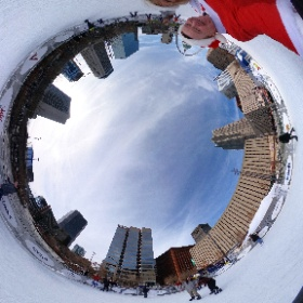 Happy Birthday Joanie! Dec 24 is my sister's birthday so we went #iceskating and then rode to the top of the arch. @gatewayarchnps @stlouisblues #santa #stlouis #christmas #merrychristmas#theta360 #theta360