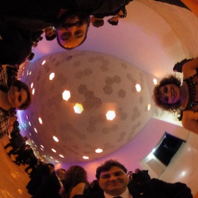 Con @NataliadeMolina @@helenajbarrero y @alfredsantapau en los #premisgaudi