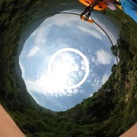 飛越叢林 #theta360