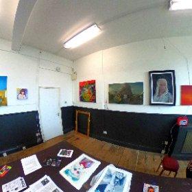 my gallery with dawn  #theta360 #theta360uk