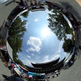 京都 東寺 弘法市。