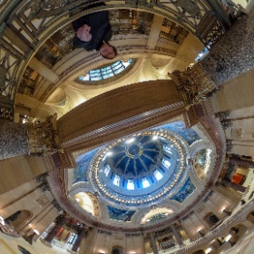 Minnesota State Capital building remodel in #tinyworld #onlyinmn #theta360