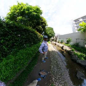 Time Shift Sample 2 #theta360