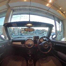 #ミニクーパーコンバーチブル#4人乗りオープンカー専門店バランス#27U23#opencar.jp