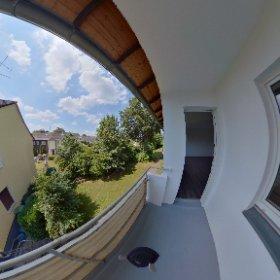 Mülheim- Schützenstr. 129 - 1. OG links - Balkon #theta360 #theta360de