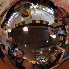 testing for goggles at this Fridays  #theta360