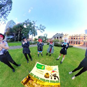 360 spherical cosplay at Stirling Gardens Perth CBD lush gardens, paths, sculptures, meeting places, SM hub https://linkfox.io/67mAi BEST HASHTAGS  #StirlingGardensWA   #PerthCity  #VisitPerthWA   #butterfly3d   #WaTourism  #WaAchiever #theta360