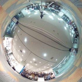 全員集合! 里ほっと 見沼たんぼ写真展 最終日。 #theta360