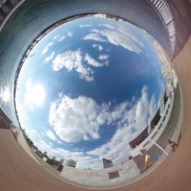 #RICOH #THETA #全天球写真 兵庫県立美術館 その6