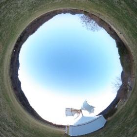 風のミュージアム:里山風車夕暮れ #ufo3d