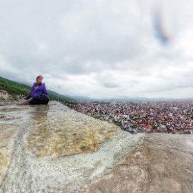 Rainy Prizren #kosovo #theta360