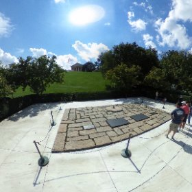 Grave of the Kennedy's, National Cemetery Arlington, Washington DC. #theta360
