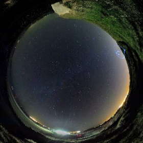 1st October 2016 | Silverstrand and Milky Way | #milkyway #360today #silverstrand #thecraic360 #firefly3d #theta360