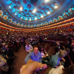 Just before show time @MarillionOnline @RoyalAlbertHall. Show of a life time.   #theta360