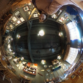 Cracker Barrel restaurant interior  #theta360