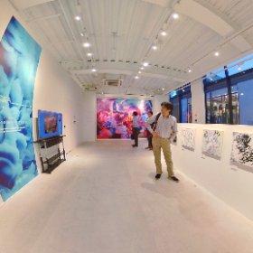 """3年間の奇跡を辿る""""LIMITS展 Exhibition"""" 2F #theta360"""