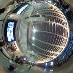 台湾桃園国際空港 第1ターミナル #まるちゃん台湾旅行 #theta360