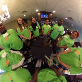 Today's student speakers. #WakeReady #GradNation @WCPSS #theta360