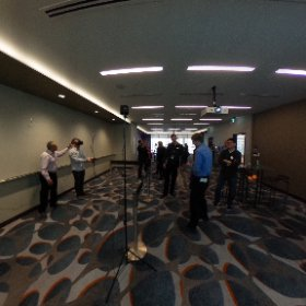 VR view of our VR demo room, at @ATBfinancial's #ATBtransformation at @FlyYYC.