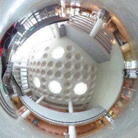 西東京市保谷こもれびホール エントランス #theta360