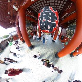 I also visited the #Asakusa Temple ! It was apaising 😊 #Japan #日本 #theta360 #theta360fr