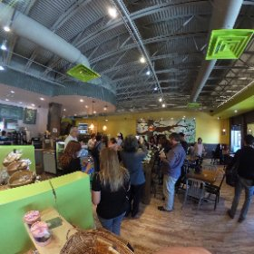 #seoulofthesouth Korean food tour with #exploregwinnett at Tree Story Cafe in #Duluth  #theta360
