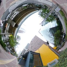 大阪市旧町名継承碑・浜崎町の場所