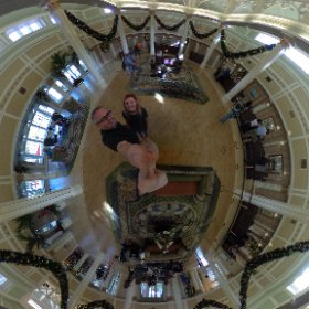Welcome to the Port Orleans Riverside hotel at Disney World! #theta360