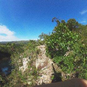 No alto do Mirante da Cachoeira, Delfinópolis