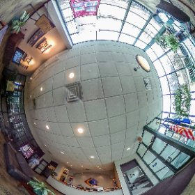 Spherical view of the Berghammere Lobby.