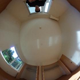 世田谷区等々力の「等々力ハウス」3LDKテラスハウスの南側洋室パノラマ写真です。日当り良好な室内ですよ。物件詳細はこちらhttp://www.futabafudousan.com/bukken/g/syousai/746dat.html #theta360