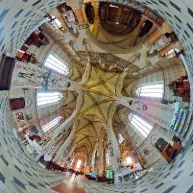 Katedrála svatého Václava v Olomouci - 360° sférická fotografie #theta360
