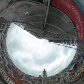 #360view #sintbaafs #openmonumentendag #gent #ghent @visitgent click to view #vr #city #landscape #belgium #theta360