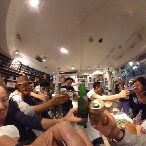 after party! thx MARUA #theta360