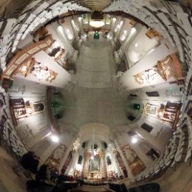 チェコ、リトミシュルの聖十字架発見教会 #theta360