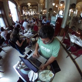 Finished the first draft of the outline for #EcosystemThinking at #NewYorkCafe #Budapest #theta360