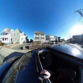 892 Shirley Street, Winthrop,  Massachusetts.  #sylviaplath #driveby #theta360