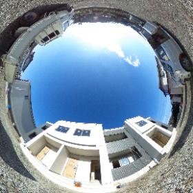 富士吉田市の新築アパート【ソレイユⅡ】 #theta360