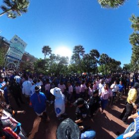 360 view of Gator Walk before the UF Spring Game. #OBDebut